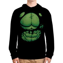 """Толстовка с полной запечаткой """"Халк (Hulk)"""" - супергерои, marvel, марвел, халк"""