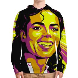 """Толстовка с полной запечаткой (Мужская) """"Майкл Джексон"""" - поп арт, рисунок, майкл джексон"""
