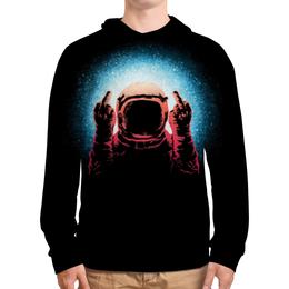 """Толстовка с полной запечаткой """"Космонавт"""" - space, космос, galaxy, cosmic, космонавт"""