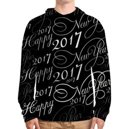 "Толстовка с полной запечаткой ""New Year 2017"" - happy new year, новый год, new year, 2017, new year 2017"