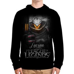 """Толстовка с полной запечаткой """"League of Legends. Люциан"""" - lol, league of legends, lucian, геймерские, люциан"""