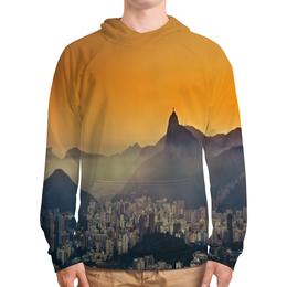 """Толстовка с полной запечаткой """"Рио-де-Жанейро"""" - мир, страны, города, рио, city"""