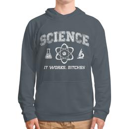 """Толстовка с полной запечаткой (Мужская) """"Наука"""" - geek, science, наука, научный, ученый"""