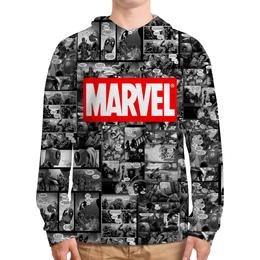 """Толстовка с полной запечаткой """"Марвел Marvel Comics"""" - marvel, марвел, капитан америка, marvel comics, комиксы марвел"""