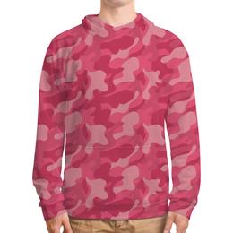 """Толстовка с полной запечаткой """"Pink Lil Peep"""" - розовый, эмо, лил пип"""