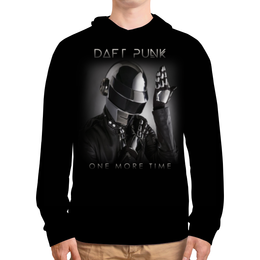 """Толстовка с полной запечаткой """"Daft Punk"""" - daft punk, дафт панк, музыка, электроника, хаус"""