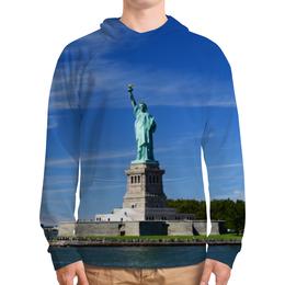 """Толстовка с полной запечаткой """"Статуя Свободы"""" - нью-йорк, америка, статуя свободы"""