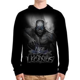 """Толстовка с полной запечаткой """"League of Legends. Ryze"""" - lol, league of legends, геймерские, ryze, райз"""