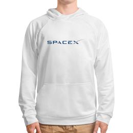 """Толстовка с полной запечаткой """"SpaceX"""" - spacex, космос, звезды, вселенная, илон маск"""