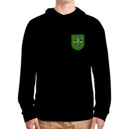 "Толстовка с полной запечаткой ""10th SFG"" - green beret, sfg, oda, 10th"