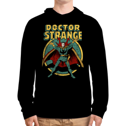 """Толстовка с полной запечаткой (Мужская) """"Доктор Стрэндж"""" - комиксы, супегерои, доктор стрэндж, doctor strange"""