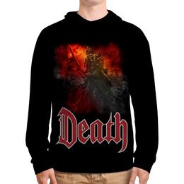 """Толстовка с полной запечаткой (Мужская) """"Death Art"""" - skull, череп, death, смерть, меч"""