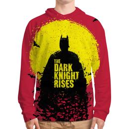 """Толстовка с полной запечаткой (Мужская) """"Темный Рыцарь (Бэтмен)"""" - batman, dark knight"""