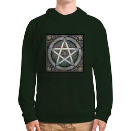 """Толстовка с полной запечаткой """"очень древнийе знаки символы магия."""" - знак, символ, магия, веды"""