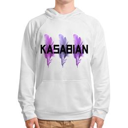 """Толстовка с полной запечаткой """"Kasabian"""" - kasabian, касабиан, музыка, рок группы, касейбиан"""