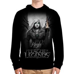 """Толстовка с полной запечаткой """"League of Legends. Кейл """" - lol, league of legends, геймерские, kayle, кейл"""