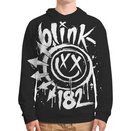 """Толстовка с полной запечаткой """"Blink-182"""" - blink 182, blink182, блинк 182, панк, punk"""