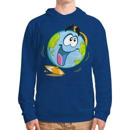"""Толстовка с полной запечаткой """"Школа"""" - школа, учёба, глобус"""