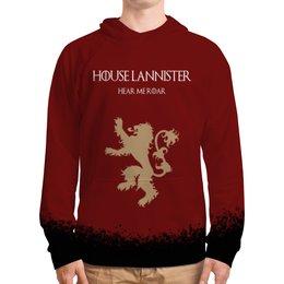"""Толстовка с полной запечаткой """"House Lannister"""" - сериал, игра престолов, game of thrones, lannister, ланнистеры"""