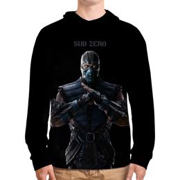 """Толстовка с полной запечаткой """"Mortal Kombat X (Sub-Zero)"""" - воин, компьютерная игра, sub-zero, mortal kombat"""