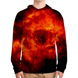 """Толстовка с полной запечаткой """"Universe"""" - одежда космос, космос, звезды, вселенная"""
