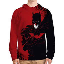 """Толстовка с полной запечаткой (Мужская) """"Бэтмен / Batman"""" - комикс, рисунок, кино, бэтмен"""