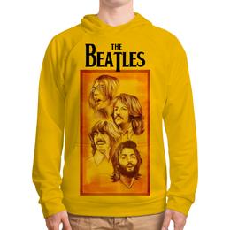 "Толстовка с полной запечаткой ""The Beatles"" - beatles, the beatles, битлз, рок музыка, рок группа"