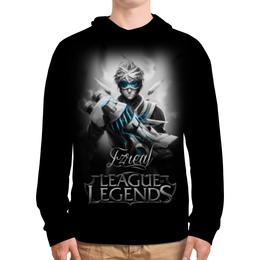 """Толстовка с полной запечаткой """"League of Legends. Эзреаль"""" - lol, league of legends, геймерские, ezreal, эзреаль"""