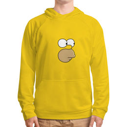 """Толстовка с полной запечаткой (Мужская) """"Гомер"""" - simpsons, симпсоны, лиза, барт"""