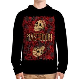 """Толстовка с полной запечаткой (Мужская) """"Mastodon Band"""" - skull, череп, heavy metal, рок группа, mastodon"""
