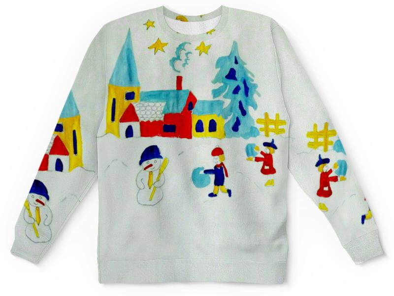 Детский свитшот унисекс Printio Зимняя сказка блуза gloss gloss mp002xw18vfw