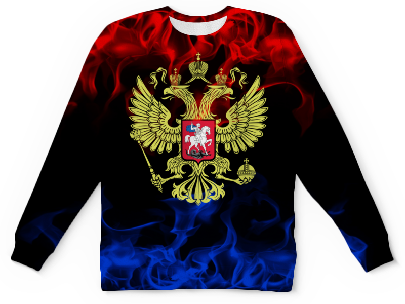 Детский свитшот унисекс Printio Россия