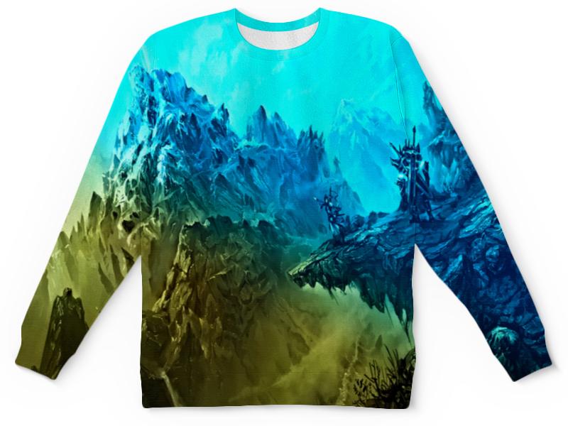 Printio Ледяные скалы детский свитшот унисекс printio скалы и лес