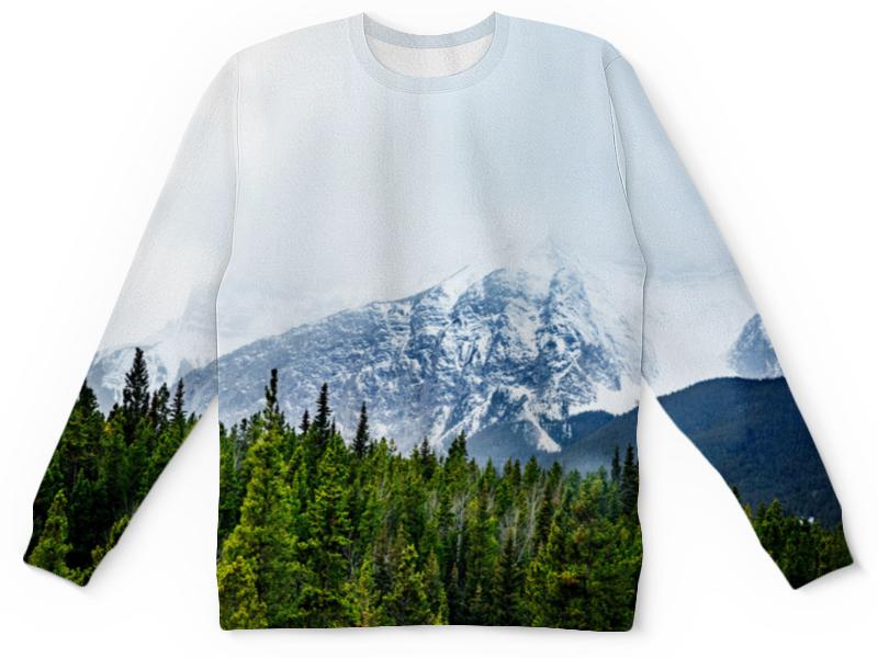 Детский свитшот унисекс Printio Ледяная гора свитшот print bar гора