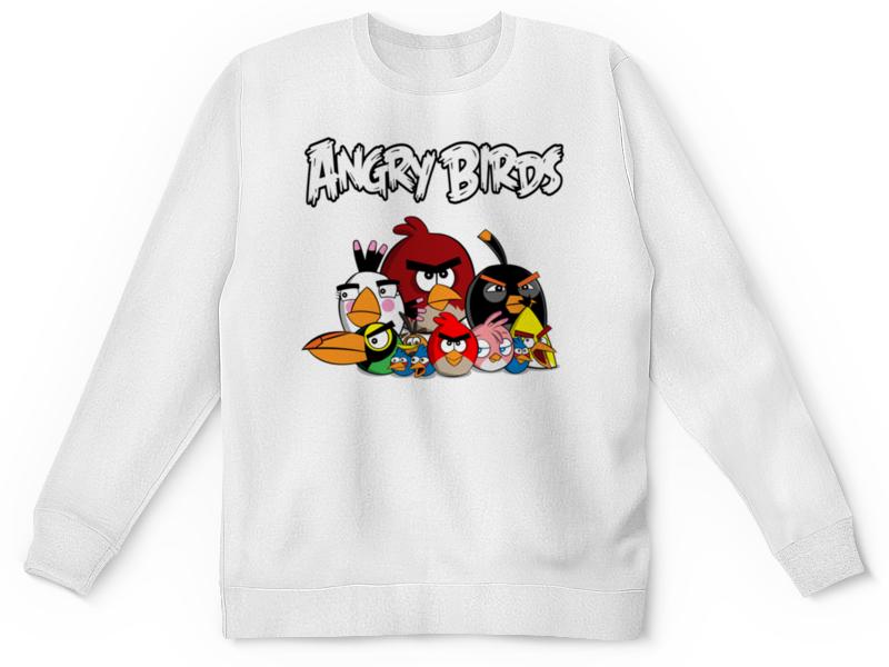 Детский свитшот унисекс Printio Angry birds недорго, оригинальная цена