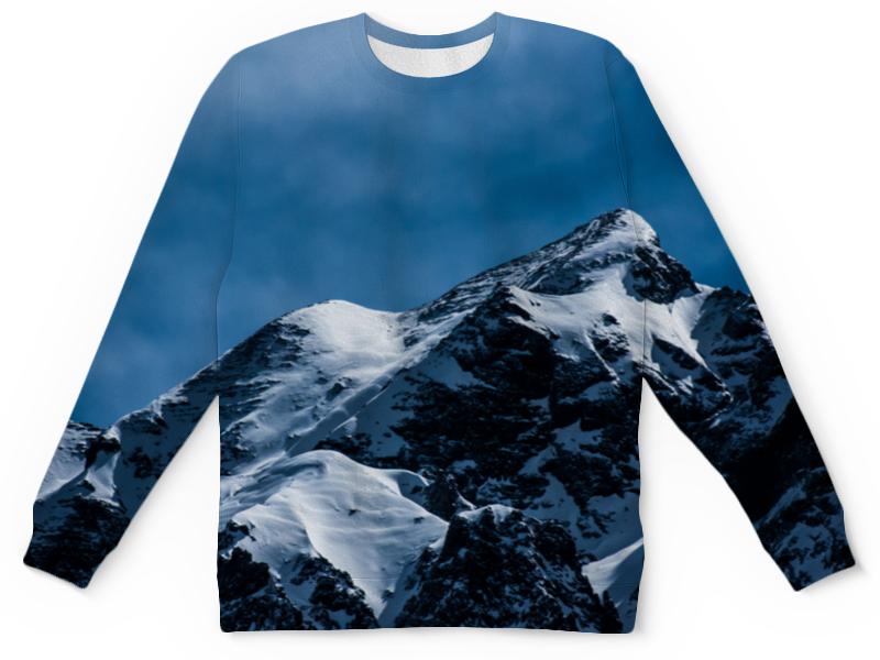 Детский свитшот унисекс Printio Снег в горах детский свитшот унисекс printio merry x mas