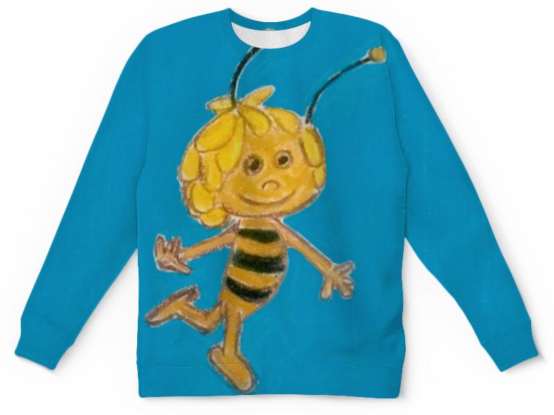 Детский свитшот унисекс Printio Пчелка глазастые букашки пчелка 01462