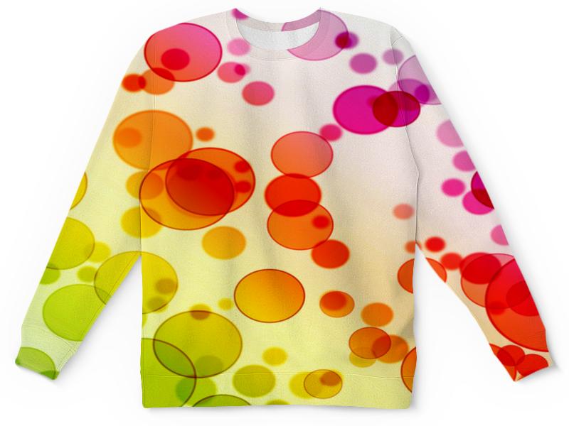 Детский свитшот унисекс Printio Разноцветные круги детский свитшот унисекс printio разноцветные краски