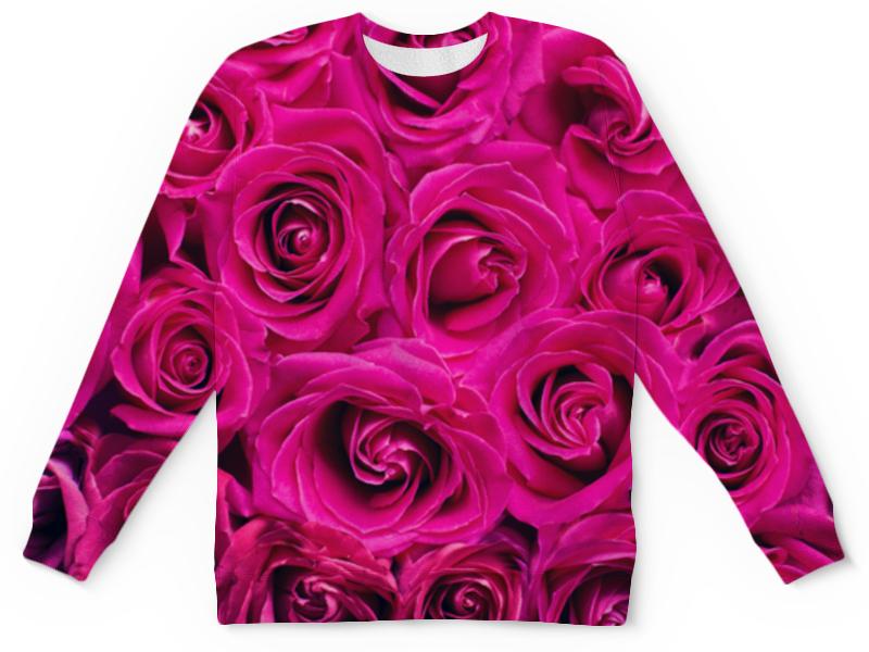 Детский свитшот унисекс Printio Pink roses детский свитшот унисекс printio pink roses