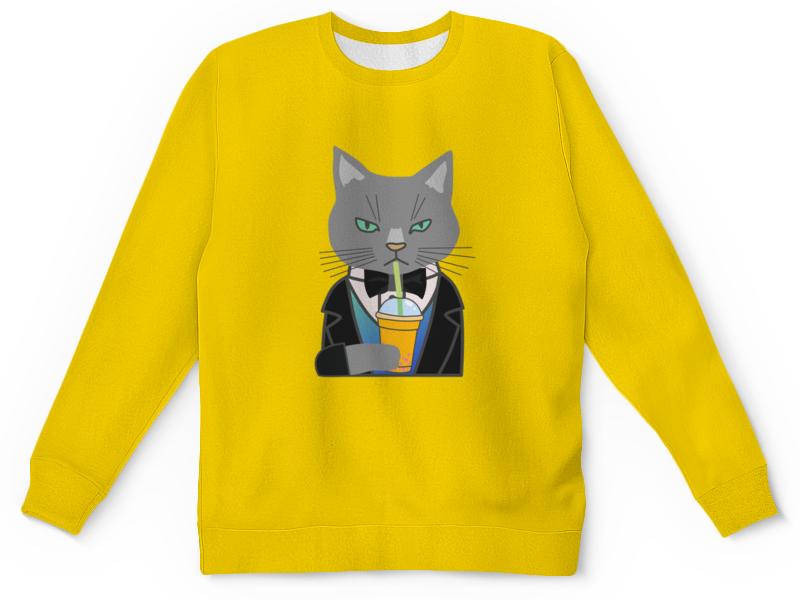 Детский свитшот унисекс Printio Котенок ранец детский котенок de 0181