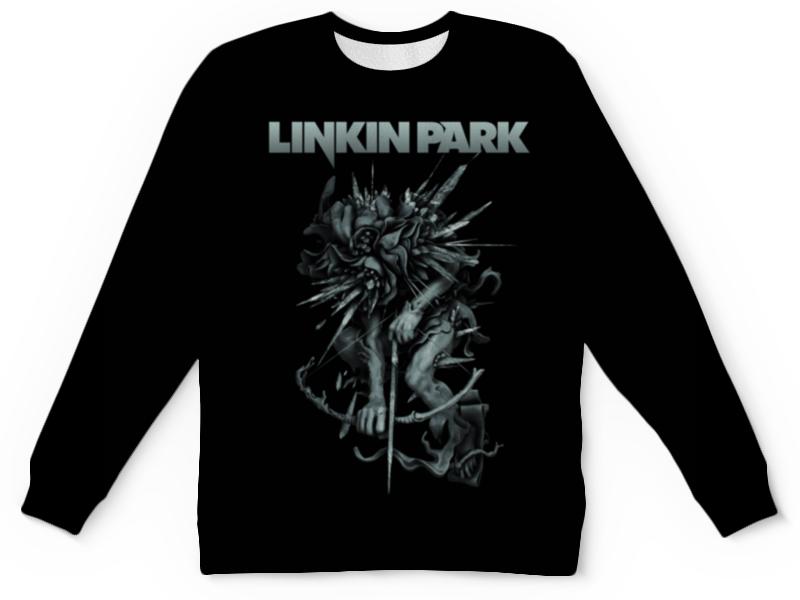 Детский свитшот унисекс Printio Linkin park