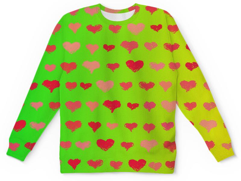 Printio Сердечки детский свитшот унисекс printio узор сердечки разноцветные любовь