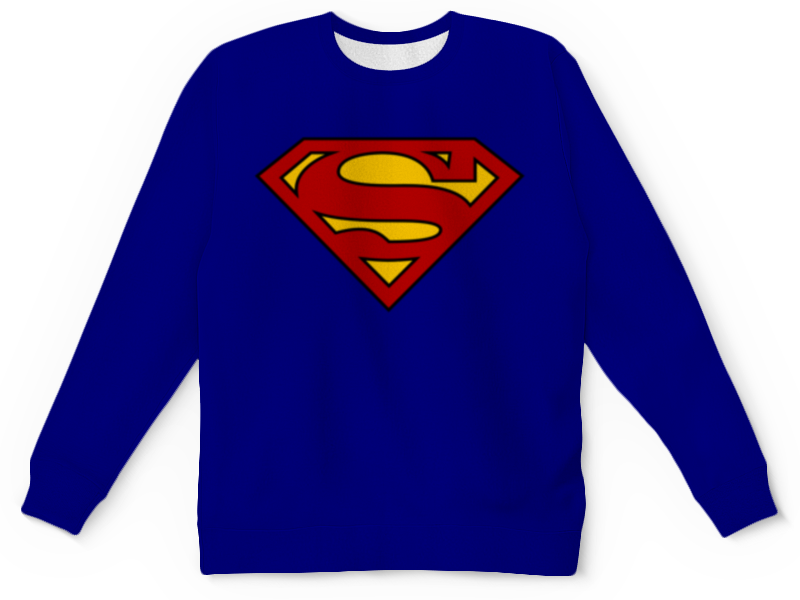Детский свитшот унисекс Printio Супермен цены онлайн