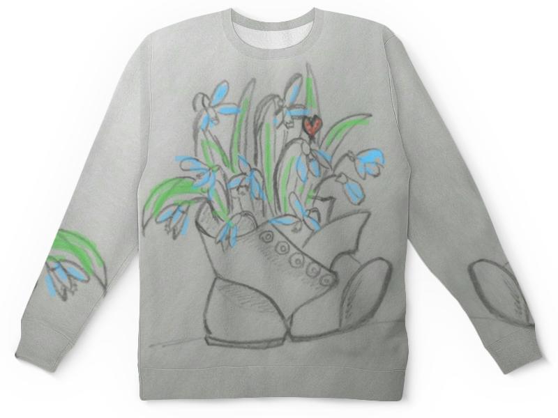 Детский свитшот унисекс Printio Подснежники футболка классическая printio подснежники