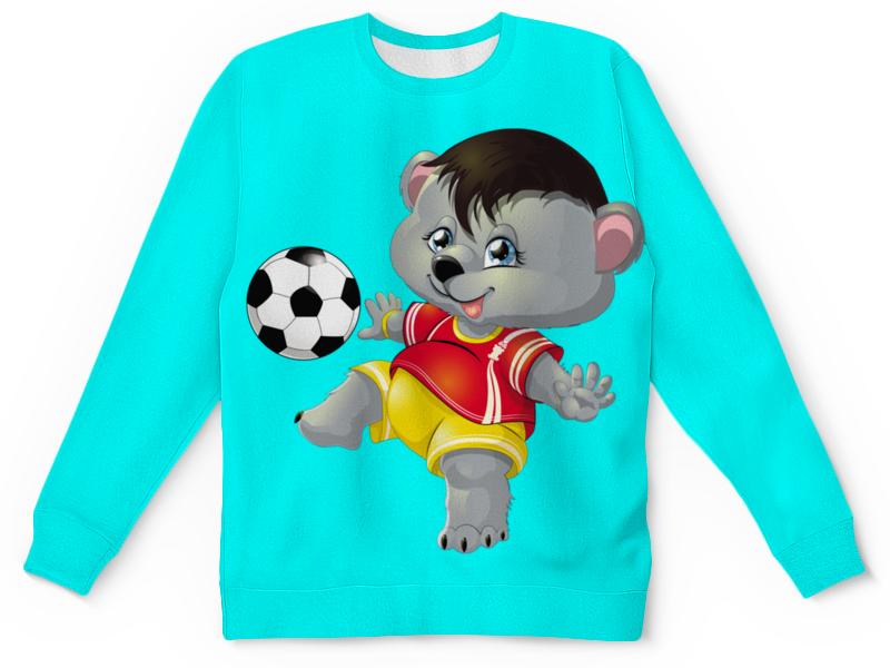 Детский свитшот унисекс Printio Спортсмен миша (1) детский диван футболист