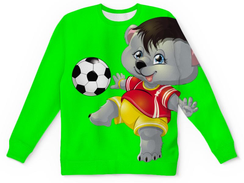 все цены на Детский свитшот унисекс Printio Да здравствует футбол. онлайн