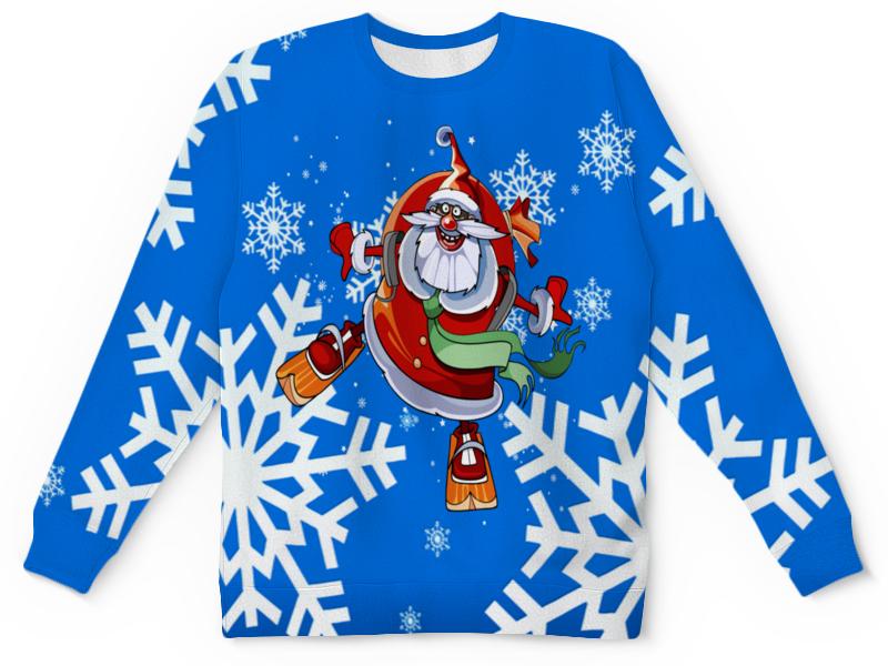 купить Детский свитшот унисекс Printio Санта клаус по цене 2100 рублей