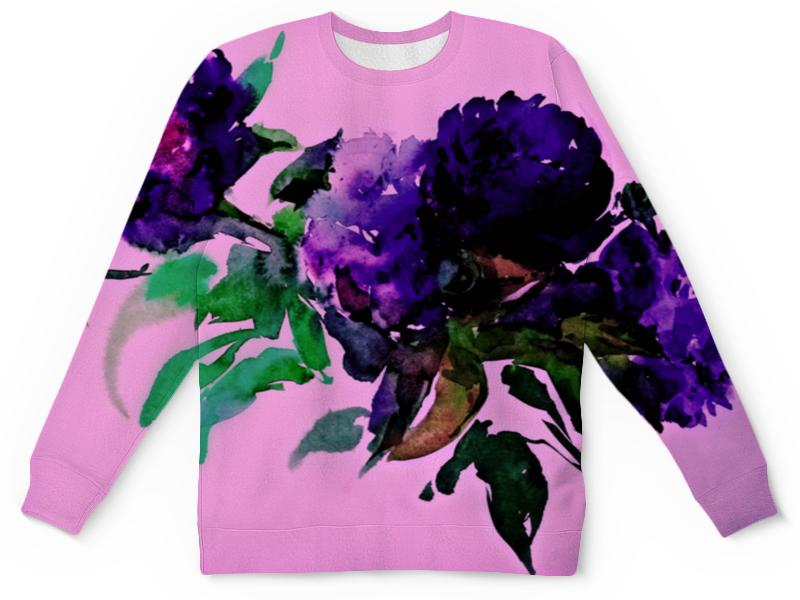Детский свитшот унисекс Printio Цветы красками детский свитшот унисекс printio цветы