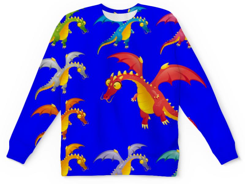 Детский свитшот унисекс Printio Динозавры детский свитшот унисекс printio свиншот детский односторонний