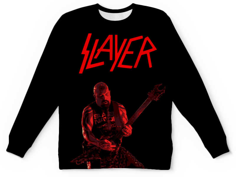 Детский свитшот унисекс Printio Slayer свитшот print bar slayer red